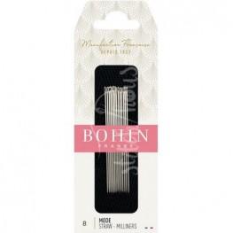 Голки для намітки Milliners №8 Bohin 00620