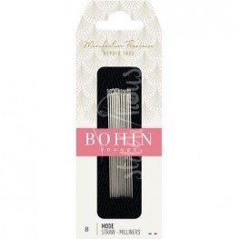 Иглы для намётки Milliners №8 Bohin 00620