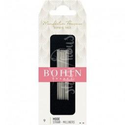Иглы для намётки Milliners №9 Bohin 00621