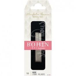 Голки для намітки Milliners №10 Bohin 00622