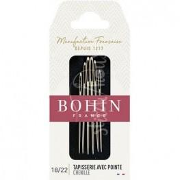 Иглы шенильные Chenille №18-22 Bohin 00978