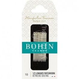 Иглы для квилтинга Betweens №10 Bohin 00322