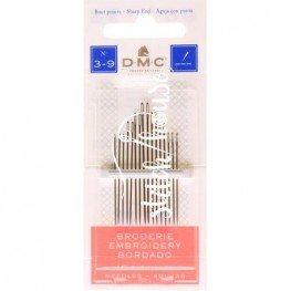 Голки для вишивання DMC Embroidery №3-9