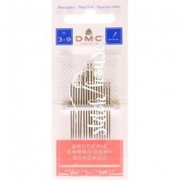 Иглы для вышивания DMC Embroidery №3-9