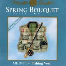 Набор Fishing Vest Mill Hill MH18-1614