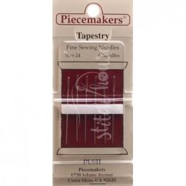 Иглы гобеленовые Tapestry Piecemakers №24