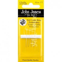 Голки бісерні John James №12 (JJ10712B)