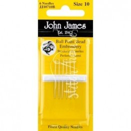 Иглы бисерные John James №10 (JJ10710B)