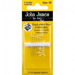 Иглы бисерные John James №10 (JJ10710)