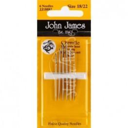 Иглы шенильные John James №18/22 (JJ18882)