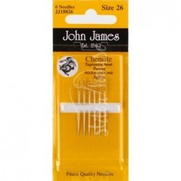 Иглы шенильные John James №26 (JJ18826)