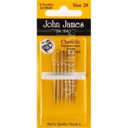 Голки шенильні John James №20 (JJ18820)
