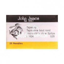 Иглы гобеленовые John James №28 (L3904-028)