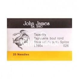 Иглы гобеленовые John James №26 (L3904-026)