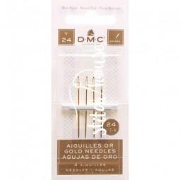 Иглы гобеленовые позолоченные №24 DMC 6130