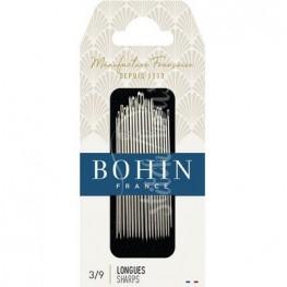 Набор игл для шитья Sharp №3/9 Bohin 00268