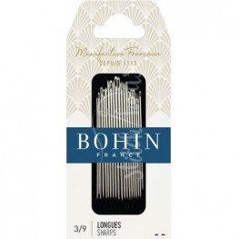 Набор игл для шитья Sharp №3-9 Bohin 00268