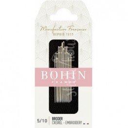Набір голок для вишивки Embroidery №5-10 Bohin 00769