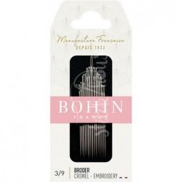 Набір голок для вишивки Embroidery №3-9 Bohin 00768