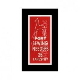 Иглы гобеленовые Pony №25 (05163)