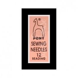 Иглы бисерные Pony №12 (07153)