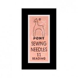 Иглы бисерные Pony №11 (07152)
