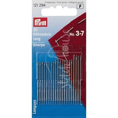 Набор швейных игл Sharps №3-7 Prym 121294
