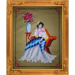 Схема Portrait of Maria Clara Bella Filipina