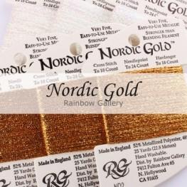 Нитки Nordic Gold Rainbow Gallery