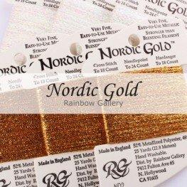 Нити Nordic Gold Rainbow Gallery