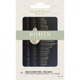 Набор игл для шитья Milliners & Sharps Bohin 05099