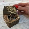 Шкатулка для рукоделия Волшебная страна FLZB(N)-002