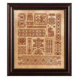 Схема Mother Maya Ink Circles