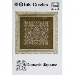 Схема Damask Square Ink Circles