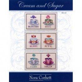 Cream & Sugar Collection: Bloom, Petal, Fern, Tulip, Blossom & Rose NC212P