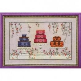 Схема Garden Party Cakes Nora Corbett NC182