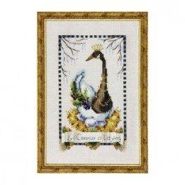 Схема Six Geese a Laying Nora Corbett NC146