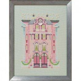 Схема The Pink Edwardian House Nora Corbett NC283