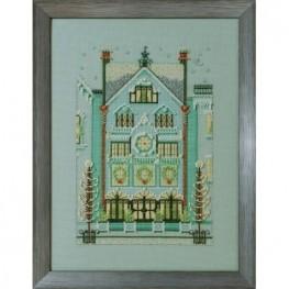 Схема The Clockmaker's House Nora Corbett NC284