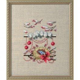Схема Winter Nest Nora Corbett NC276