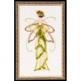 Схема Amaryllis Spring Garden Nora Corbett NC135