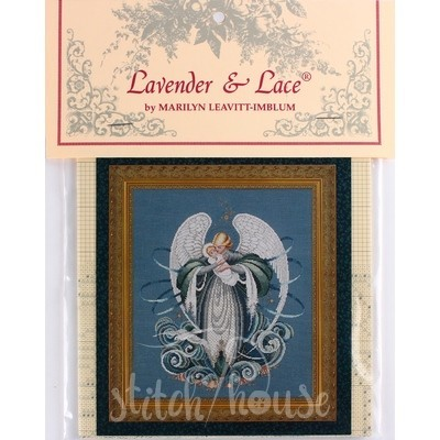 Схема Angel of the Sea Lavender and Lace LL37