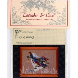 Схема Angel of Freedom Lavender and Lace LL10