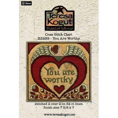 Схема You Are Worthy Teresa Kogut XS289