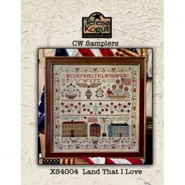 Схема Land that I Love Teresa Kogut XS4004