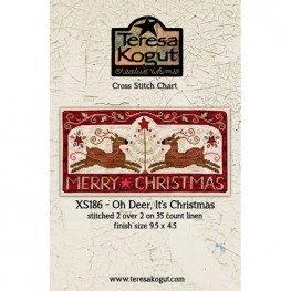 Схема Oh Deer, it's Christmas! Teresa Kogut XS186