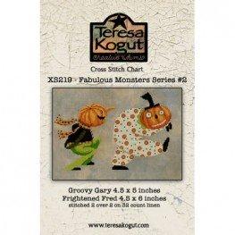Схема Fabulous Monsters Series #2 Teresa Kogut XS219