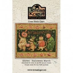 Схема Halloween March Teresa Kogut XS344
