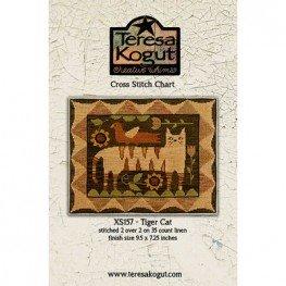 Схема Tiger Cat Teresa Kogut XS157