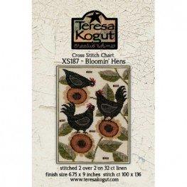 Схема Bloomin' Hens Teresa Kogut XS187